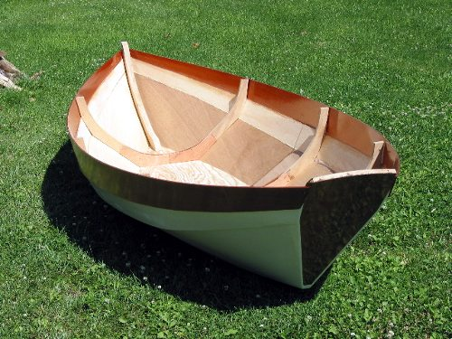 a.b.b. - amateur boat building - Building the Dory Tender