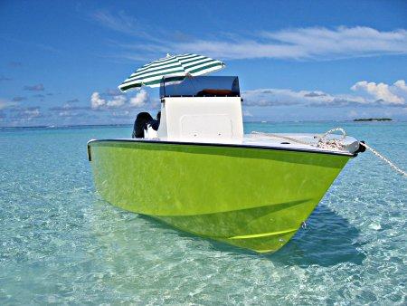 bateau de peche tahitien