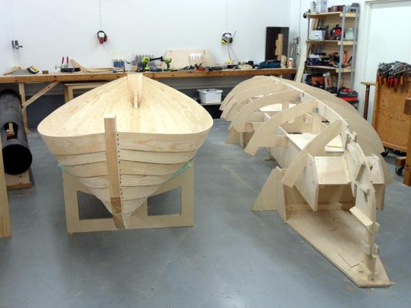 Amateur boat building in houston seems